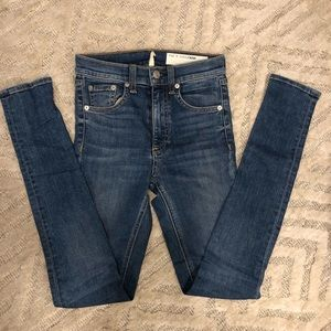 Rag and Bone High Waisted Jeans - size 23